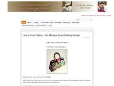 ① Learn How To Make A Purse & Custom Painted Fabrics - http://www.vnulab.be/lab-review/%e2%91%a0-learn-how-to-make-a-purse-custom-painted-fabrics