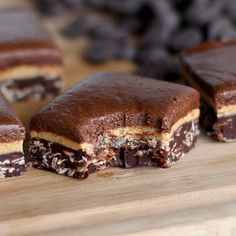Triple-Decker Chocolate Peanut Butter Fudge … a secretly healthy treat that will disappear before your eyes!