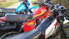 Suzuki DR 500 Honda 500 XLS Yamaha XT 500