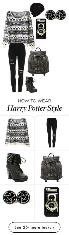Untitled #280 by xxyourcrazynightmarexx on Polyvore featuring UGG Australia and Casetify #harry_potter_style_outfits
