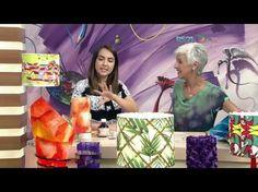 Mulher.com - 25/01/2017 - Cúpula de abajur com filtro de café - Rosely Ferraiol - YouTube