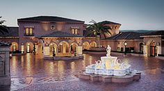 The Grand Del Mar, San Diego, Ca. One of my favorite visits. The spa is fabulous. You feel like you are in an Oasis.