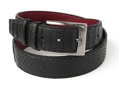 Shop now!--------- PAUL PARKMAN - SUPERIEUR NERO CINTURA------- Starting at $275 USD ----- http://classicclubfashion.com/collections/belts/products/paul-parkman-mens-black-genuine-python-snakeskin-belt ----------  High quality, Italian hand made belts designed by Paul Parkman. * Black Genuine Python (snakeskin) * Exact color matching with your Paul Parkman python shoes. * Size may be adjustable from the buckle ------- #belts #luxury #handmade #snakeskin #mensfashion #fashion…