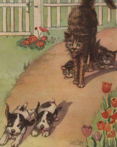 illustration by artist Bertha Boyd, 1938