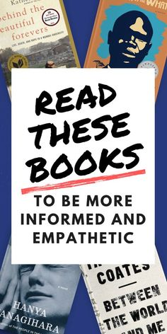 Want to be a more informed and empathetic person? The books on this list from Mind Joggle can help. These fiction and nonfiction books are rooted in stories of struggle that people face in real life. #books #booklist #empathy Literary Fiction, Fiction And Nonfiction, Historical Fiction, New Books, Good Books, Books To Read, Empathetic Person, Cd Crafts, How To Read Faster