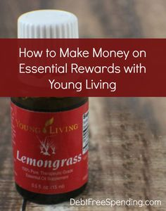 How to make money on essential rewards with Young Living