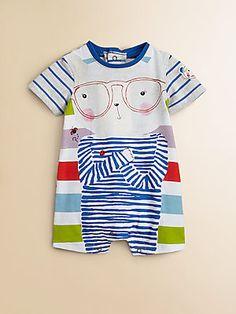 Catimini Infant's Striped Shortall