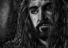 Thorin Oakenshield by Fantaasiatoidab on deviantART....what a sexy, badass, wonderful, brilliant, gorgeous Dwarf King!