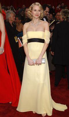 Naomi Watts in Escada - Fashion Flashback: 2007 Oscars Red Carpet  - Photos