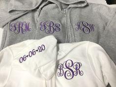 Monogram Hoodie, Monogram Initials, Teacher Tote Bags, Teacher Appreciation Gifts, Full Zip Hoodie, Hoodies, Sweatshirts, My Bags, Zip Ups