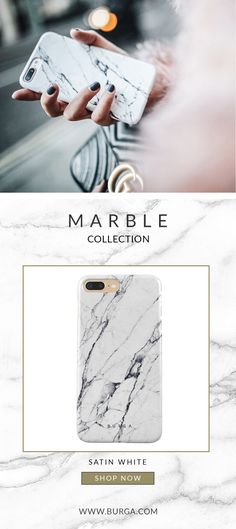 Marble trend has exploded over the last few years and the buzz doesn't seem to go away anytime soon. Our unique marble collection combines modern style with a touch of luxury. Add some edginess to your image with this case and let it take care of your device's protection. burga Satin White Marble Marmor iphone 7 and iphone 8 hard case