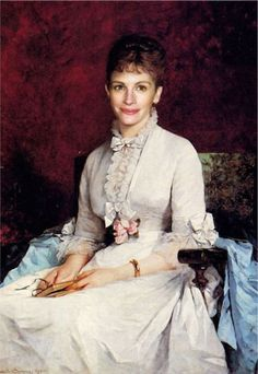 Portrait of a Lady Henriette Browne (French, Oil on canvas. Sophie de Bouteiller, better known by the pseudonym Henriette Browne, studied under Charles Joshua Chaplin beginning in In this work, the lady is dressed in white.