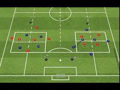 FUNCTIONAL - SS - 6V4 (POSITIONAL) - ANIMATION 2 - YouTube Field Hockey Drills, Football Training Drills, Football Workouts, Soccer Drills, Soccer Coaching, Abs Workout For Women, Game, Animation, Workout Exercises