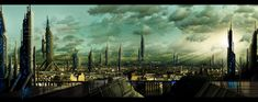 Speed/matte painting, initially done for a school assignment, this became a personal work made just for fun. The original plate is a pic of Paris I found on flickr. The weather and the women are ju...