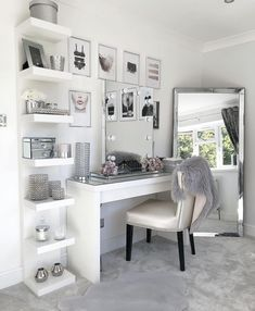 10 vanity mirrors with light ideas you need to spruce up your vanity table GirlsRoom AmourRoom BestBedroomGirls VanityMirrorWithLights Ikea Esty VanityDecor MakeupRoom Girls VanityMirrorIdeas DIYVanityMirrorIdeas # Bedroom Decor For Teen Girls, Girl Bedroom Designs, Room Ideas Bedroom, Home Decor Bedroom, Ikea Room Ideas, Bedroom Ideas For Small Rooms, Grey Bedroom Design, Ikea Mirror Ideas, Girls Bedroom Decorating