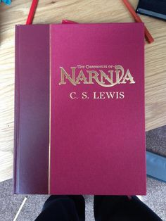 I've wanted a beautiful copy of the entire Chronicles of Narnia series for forever! Mine is a ripped paperback I bought for $4 at the thrift store.