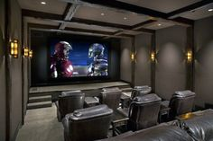 Top 70 Best Home Theater Seating Ideas & Movie Room Designs > > Top 70 Best Home Theater Seating Ideas – Movie Room DesignsTop 70 Best Home Theater Seating Ideas – Movie Room DesignsThere comes a ti Best Home Theater, At Home Movie Theater, Home Theater Design, Home Theater Seating, Theater Seats, Home Cinema Room, Home Theater Rooms, Home Theater Furniture, Bonus Room Design