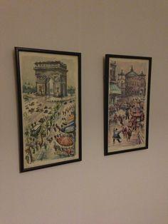 My Paris paintings . Thanks mamaxx