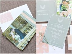 Photographer Heather Cook Elliot's review of pretty wedding stationery from WeddingPaperie.com.