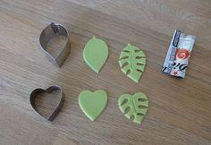 Leaves & hearts fondant tutorial