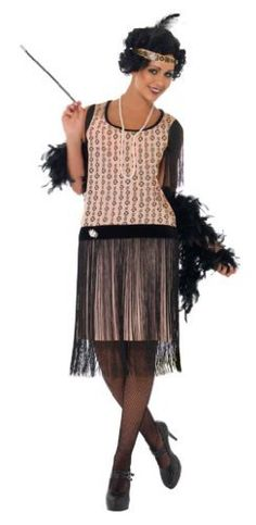 Ribticklers 1920's Coco Flapper Costume:Amazon.co.uk:Toys & Games