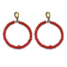 Inspiração para a semana começar quente (e amenizar o inverno)! 🆕👏💟😁🙏 #colecao #inverno #vermelho #brinco #cristal #leve #moda #estilo #winter #collection #light #weight #earrings #fashion #style #instamood #instalook #instagood