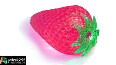 Transparent Strawberry. DIY. How to make Strawberry from resin and silicone Resin Art, Hobbies, The Creator, Strawberry, Fruit, Diy, Bricolage, Strawberry Fruit, Do It Yourself