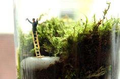Miniature Movie Scene Terrariums : Beetlejuice Terrarium