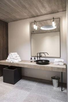 Bathroom Ideas - 21 Black White and Grey Bathrooms