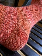 Ravelry: Twisted Tweed Socks pattern by Schrodinger