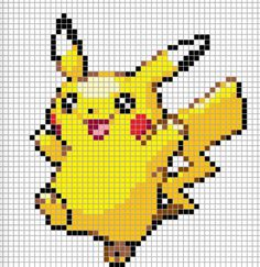 A pikachu grid