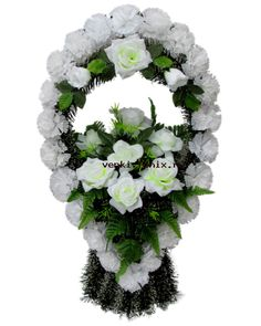 Grave Flowers, Funeral Flowers, Floral Wreath, Wreaths, Decor, Bouquets, Crowns, Fresh Flower Arrangement, Decorating