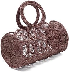 Shop a great selection of KAANAS Women's Manizales Satchel. Find new offer and Similar products for KAANAS Women's Manizales Satchel. Unique Handbags, Purses And Handbags, Fashion Handbags, Art Bag, Macrame Bag, Jute Bags, Basket Bag, Knitted Bags, Handmade Bags