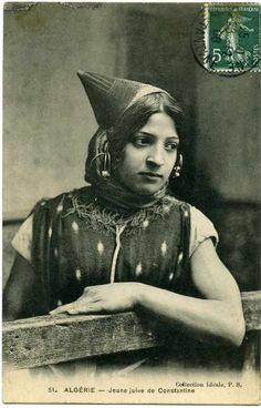 Jewish Girl from Constantine - 1908