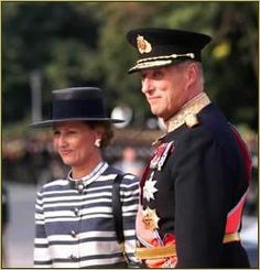 His Majesty, King Harald of Norway and Her Majesty, Queen Sonja of Norway. This gracious couple visited us in Minnesota last October.
