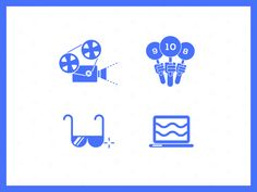 Animated Icons  by Markus Magnusson for NEVERBLAND