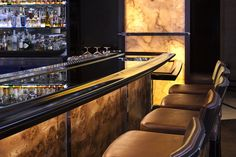 Bar at Strip Steak at The Fontainebleau Miami Beach for  Dynamica Architecture, Miami Bishop Pass. LA - designers