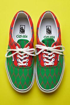 Vans + Kenzo sneakers