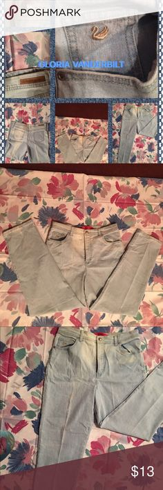 🛍Bundle & Save💰14P by GLORIA VANDERBILT jeans EUC-These GLORIA VANDERBILT size 14P stonewashed jeans are Made of 75% cotton, 23% polyester and 2% spandex. These comfy jeans stretch for added comfort. For the discount of 20% off of 3+ items, use the regular bundle feature! Thank you for visiting my closet! Gloria Vanderbilt Jeans Straight Leg