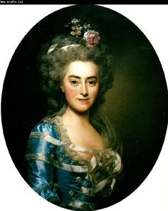Portrait de Augustine Suzanne Roslin, 1781 Alexander Roslin