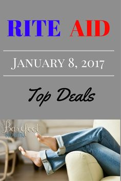 Here is the Top Rite Aid Deals Week of January 8, 2017! .... use my rewards interchangeably at Macy's, Mobil Gas Stations and a whole bunch more!  I've left a