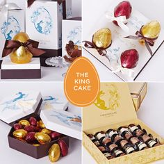 Ovo de Páscoa de chocolate - The King Cake