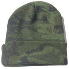 6b921691b8b Promotional Custom Camouflage Printed Acrylic Outdoor Sport Hat Camo Cuff  Beanie Meisai Knit Winter Fold Hat