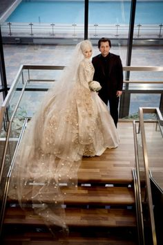 TANJU BABACAN İSLAMİC WEDDİNG DRESS