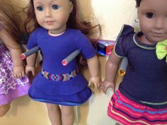 ★ one girl and her many dolls ★: DIY Storage for American Girl and other 18-inch Dolls