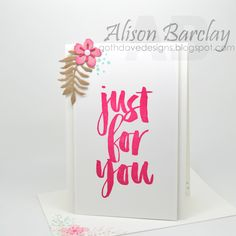 Gothdove Designs - Alison Barclay - Stampin' Up! Australia - Stampin' Up! Sale-A-Bration - Botanicals For You