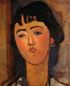 Amedeo Modigliani Portrait de femme (aux mèches) 1915