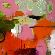 """""""Fancy Free in Pink""""  by Flora Bowley, 2008"""