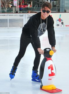 this is why there should be XXL penguins Joey Essex, Man Crush Monday, Salts, My People, Ice Skating, Hot Boys, My Man, New Shoes