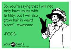 PCOS Humor #truth